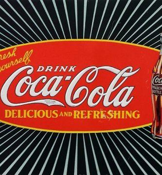 nevera coca cola vintage