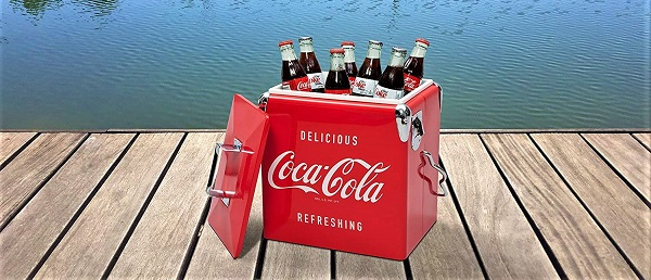 nevera vintage coca cola portatil