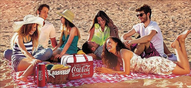 nevera coca cola antigua